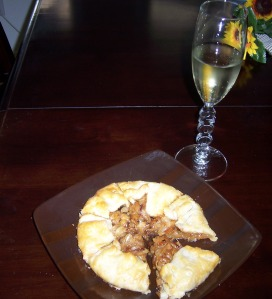 Free Form Onion Tart