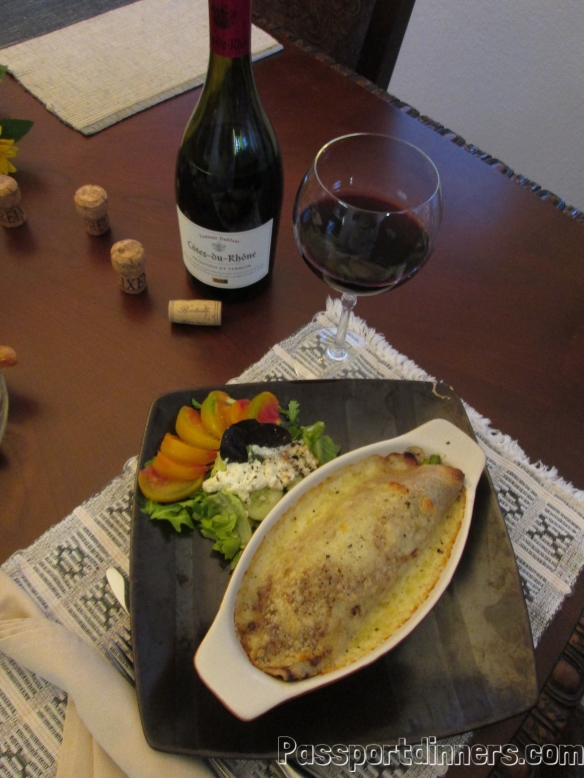 Bastille crepe dinner